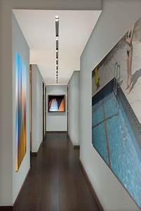 gallery hall contemporary hall miami by nieto With best brand of paint for kitchen cabinets with miami dolphins wall art