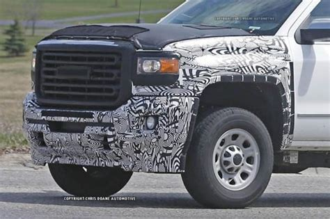 2017 Gmc Sierra 2500 Duramax Redesign, Release And Changes