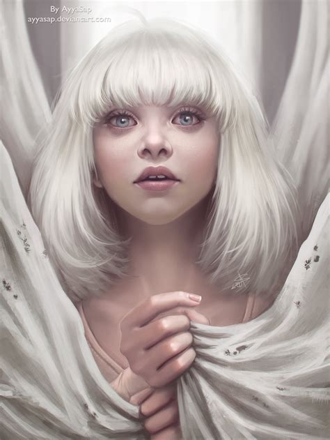 maddie ziegler redraw sia chandelier by ayyasap on