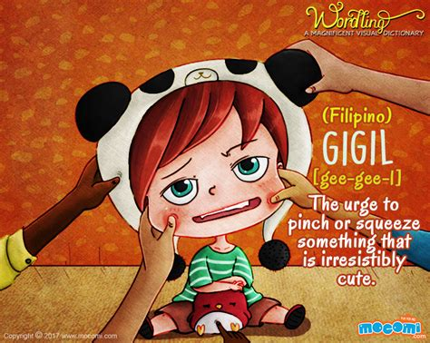 """What Does """"gigil"""" Mean?  Wordling For Kids Mocomi"""