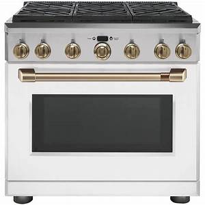 Cafe 36 In  6 2 Cu  Ft  Gas Range With Self