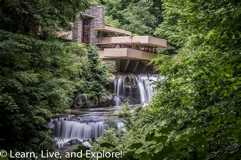 Frank Lloyd Wright's Fallingwater  Learn, Live, and Explore