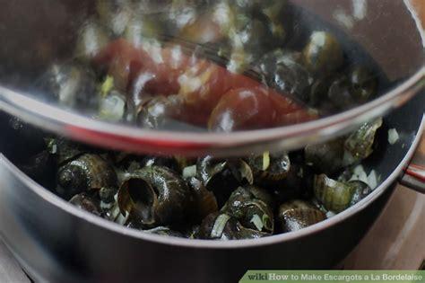 escargot a la bordelaise how to make escargots a la bordelaise 9 steps with pictures