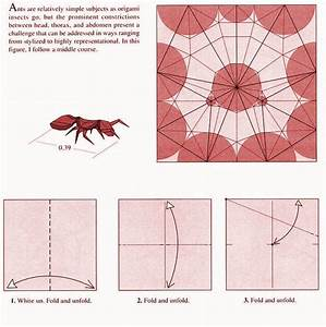 Ant Origami Diagram 1