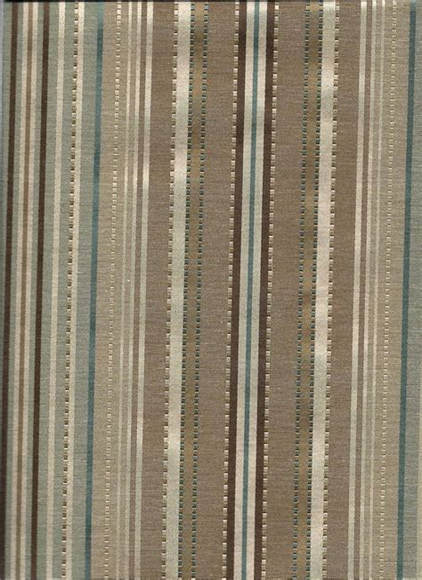 kent stripe in color chocolate and taupe brown and