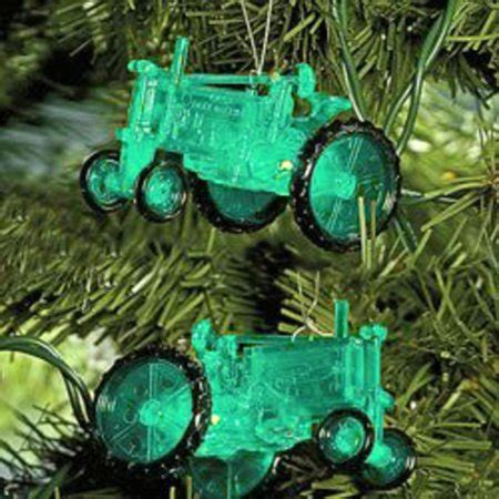 tractor christmas tree lights set of 10 country heritage green farm tractor lights green wire walmart