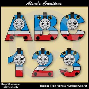 thomas train alphabet letters numbers clip art graphics With thomas the train letters