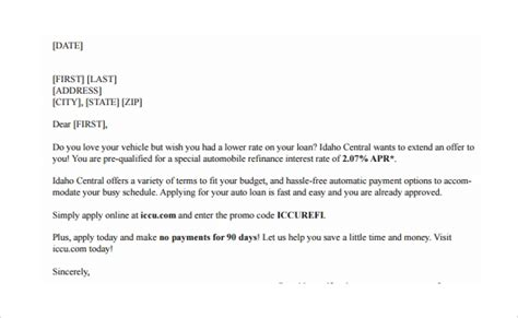 pre qualification letter  college application