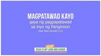 Tagalog Bible Verse Colosas Mga Taga Jesus
