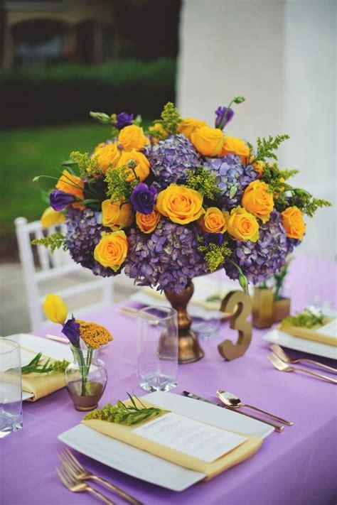 Elegant Lavender And Yellow Wedding Ideas Wedding