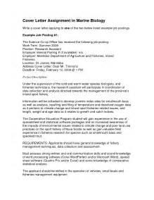 human biology degree resume cover letter exles position