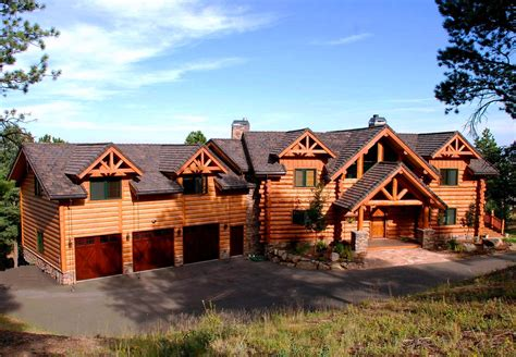 country homes exterior pictures custom handcrafted milled log homes