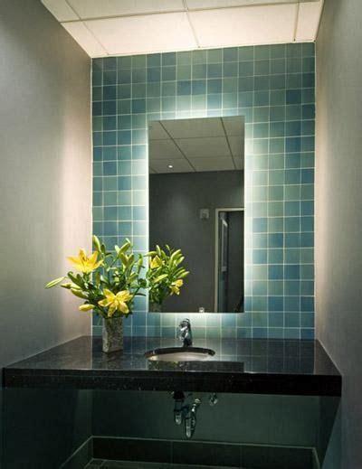Back Lighted Bathroom Mirrors by Backlit Mirror Bathroom Sink Bathroom Ideas