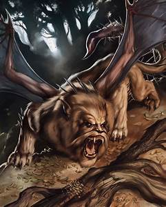 Manticore by boscopenciller on DeviantArt