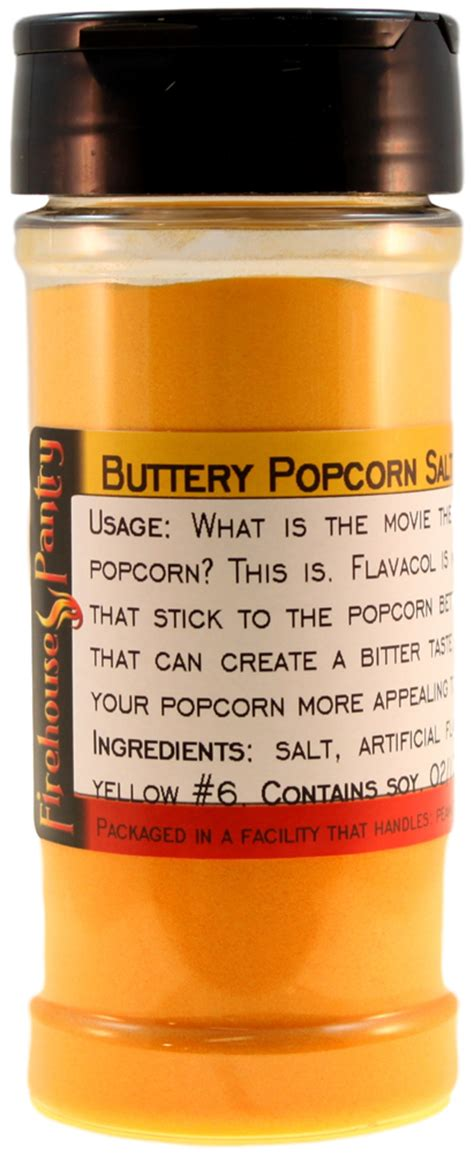 Flavacol Bulk Barn by Theater Secret Buttery Popcorn Salt In A Spice Jar