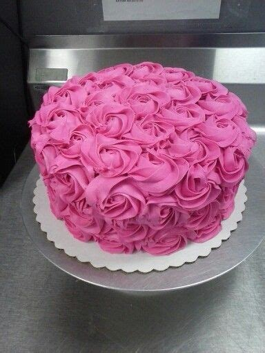 en iyi 17 fikir pink rosette cake te