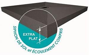 Bonde Verticale Pour Receveur Extra Plat : receveur carreler panodur slim extra plat 60 mm bonde ~ Dailycaller-alerts.com Idées de Décoration