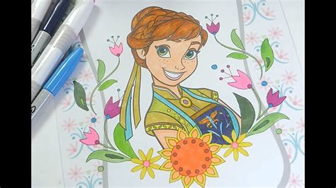 disney frozen coloring book princess anna coloring pages