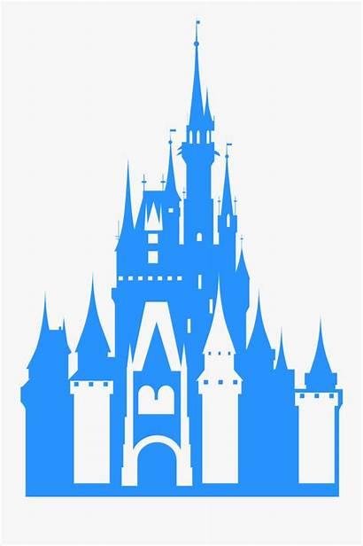 Castle Vector Disney Silhouette Svg Disneyland Clipart