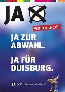 Ob Wahl Duisburg : bz duisburg lokal politik adolf sauerland ~ A.2002-acura-tl-radio.info Haus und Dekorationen