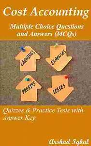Cost Accounting Multiple Choice Questions And Answers
