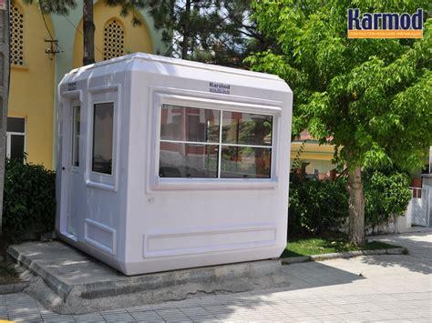 cabine bureau cabine en fibre de verre modulaire prebabricated