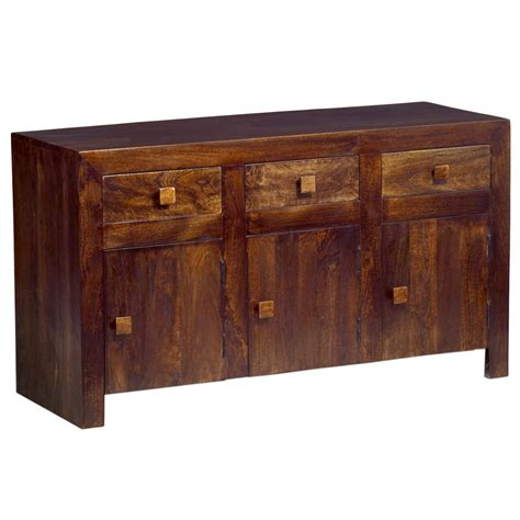 Fully Assembled Sideboards by Toko Mango Sideboard Fully Assembled Oak World