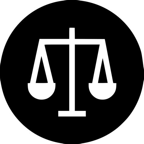 business law ethics equality scale decision fair svg png