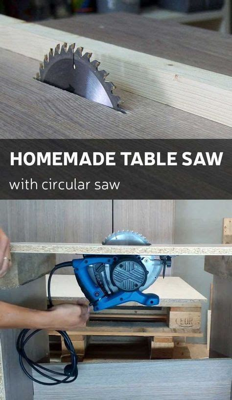 circular saw or table saw how to make a homemade table saw with circular saw