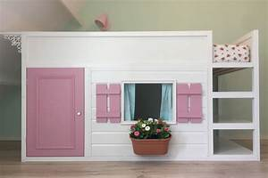 Let39s Play House A Bunk Bed Converted To Playhouse IKEA
