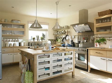An Ikea Varde Free-standing Kitchen In A Farmhouse Outside