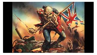 Iron Maiden- The Trooper  HD with Lyrics  - YouTube  Iron Maiden Trooper Wallpaper