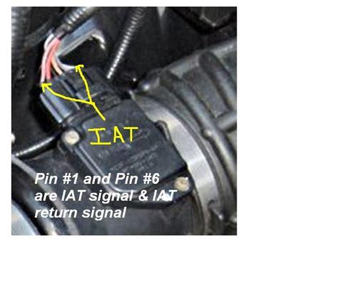 2011 Gmc Maf Iat Wiring Diagram by Iat Sensor Performance Chip Installation Procedure 2002