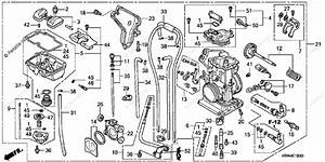 Honda Motorcycle 2007 Oem Parts Diagram For Carburetor