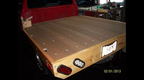 wooden truck bed pdf diy how to build wood truck bed download wooden hinge