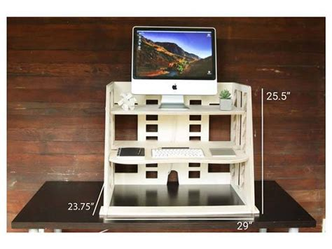 perch sit to stand desk perch wooden sit to stand desk provides you a flexible and