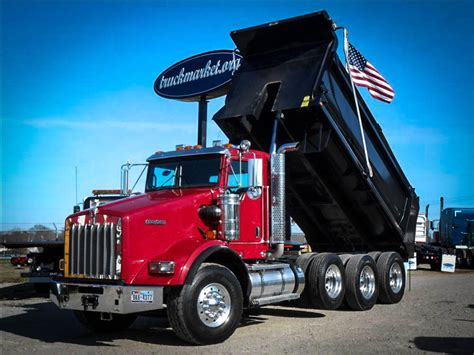 trucksales kenworth kenworth dump trucks for sale