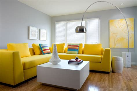 Best Ideas Gray And Yellow Living Room Incredible Homes