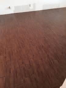 wood look alike tile customer wood plank