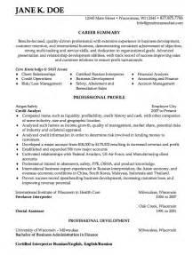 credit analyst resume summary credit analyst resume sle http resumesdesign credit analyst resume sle free