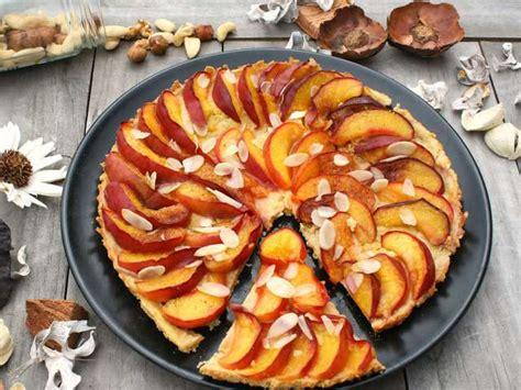recettes de tarte aux p 234 ches et p 226 te sabl 233 e