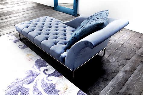chaise designer autografo capitonne luxury designer chaise lounge