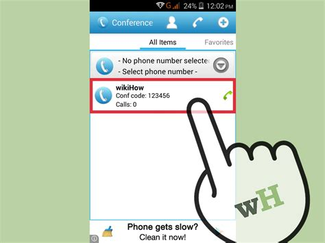 How To Conference Call On An Android