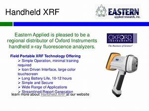 X-ray Fluorescence Overview by Eastern Applied Research