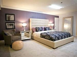 Purple Accent Wall Teenage Girls Bedrooms Purple Accent ...
