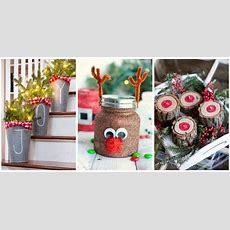 55+ Easy Christmas Crafts  Simple Diy Holiday Craft Ideas
