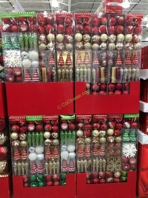 when to buy christmas decorations at costco shatter resistant ornaments 52 pc costcochaser