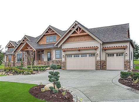 plan jd mountain craftsman   master suites house plans house floor plans home