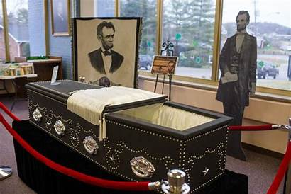 Lincoln Abraham Coffin President Dispatch Herald Buried
