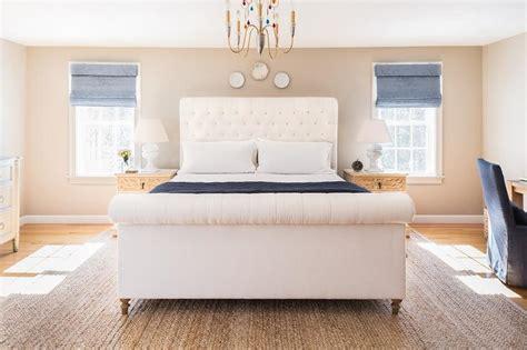 blue  cream bedroom design